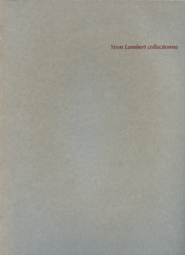199201-199204_Yvon Lambert collectionne_BD.jpg